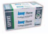 Styropian akustyczny KNAUF Therm EXPERT Podłoga Acoustic, cena za m3