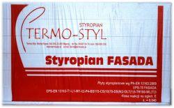 Styropian Fasada EPS 70 TERMO-STYL, cena za m3
