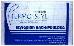 Styropian Dach/Podłoga EPS 100-038 TERMO-STYL, cena za m3