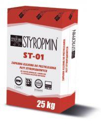 Klej do styropianu ST-01, Styropmin, 25kg