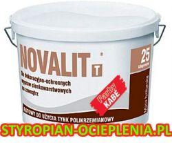 Tynk silikatowy KABE SWISS NOVALIT T Silikatowa masa tynkarska 25kg