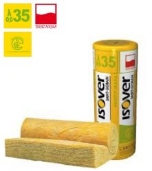 Wełna mineralna PROFIT-MATA  ISOVER EPS 035 grubość 100 mm, cena za m2