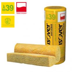 Wełna mineralna UNI-MATA Flex ISOVER EPS 039 grubość 100 mm, cena za m2