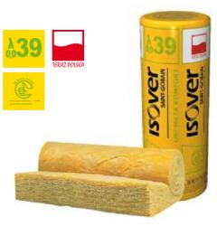 Wełna mineralna UNI-MATA Komfort ISOVER EPS 039 grubość 100 mm, cena za m2