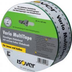 Jednostronna bardzo elastyczna taśma klejąca ISOVER VARIO MULTITAPE, cena za rolkę
