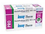 Styropian KNAUF THERM PRO Dach/Podłoga EPS 100-036, cena za m3
