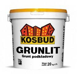 Grunlit - grunt pod tynki akrylowe KOSBUD (opak. 20kg), cena za kg