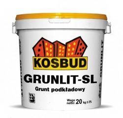 Grunlit SL - grunt pod tynki silikonowe KOSBUD (opak. 20kg), cena za kg