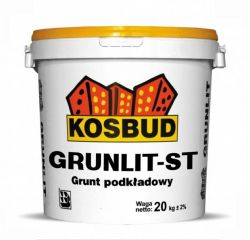 Grunlit ST - grunt pod tynki silikatowe KOSBUD (opak. 20kg), cena za kg