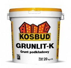 Grunlit K -  grunt pod tynki mozaikowe KOSBUD (opak. 20kg), cena za kg