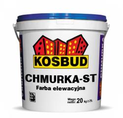 Farba elewacyjna silikatowa - Chmurka ST KOSBUD, opak 20kg