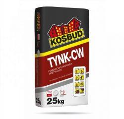 TYNK-CW szary - cementowo-wapienny, KOSBUD, opak. 25kg