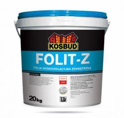 FOLIT-Z, folia hydroizolacyjna zewnątrzna KOSBUD, opak. 5kg