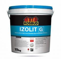 IZOLIT-G, masa asfaltowo-kauczukowa modyfikowana żywicą KOSBUD, opak. 18kg