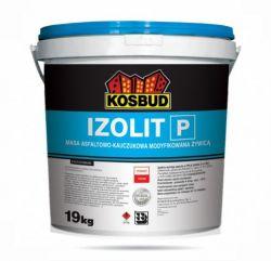 IZOLIT-P, masa asfaltowo-kauczukowa modyfikowana żywicą KOSBUD, opak. 19kg