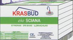 Styropian fasadowy FASADA -  EPS 042 - KRASBUD, cena za m3
