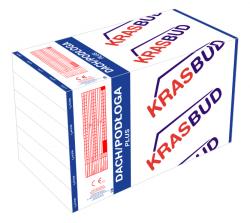 Styropian DACH/PODŁOGA Plus 2,4t -  EPS 038 - KRASBUD, cena za m3