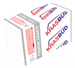 Styropian fasadowy FASADA GRAFIT - EPS 033 KRASBUD, cena za m3