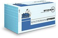 Płyty Styropianowe STYR-BUD EPS 100 Hydro-Styromax Standard  5,8,10,12 frez, cena za m3