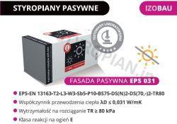 Styropian grafitowy Pasywny Fasada Izobau Lubau EPS031 BASF 30%cieplej