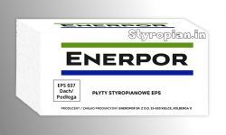 Styropian Dach/Podłoga EPS100-037 CS100  Enerpor, cena 1m3