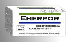 Styropian grafitowy Enerpor EPS 033 ciepły materiał na ścianę, cena za m3