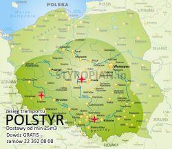 Styropian POLSTYR EPS 70-040 FASADA, cena za m3