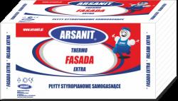Styropian Arsanit Thermo fasada extra 0,038  TR100, cena za m3