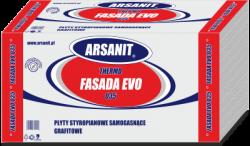Styropian Arsanit Thermo fasada EVO 0,035 TR80, cena za m3