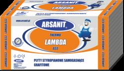 Styropian grafitowy Arsanit Thermo Lambda 0,033 TR100, cena za m3