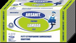 Styropian grafitowy Arsanit Thermo Lambda 0,032 TR100, cena za m3
