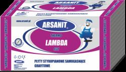 Styropian grafitowy Arsanit Thermo Lambda 0,031 TR100, cena za m3