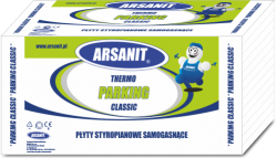Styropian Arsanit Thermo PARKING classic EPS120 0,035 3,6t/m2, cena za m3