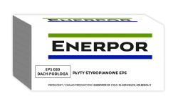 Styropian garfitowy EPS 100 030 DACH/PODŁOGA  Enerpor, cena 1m3