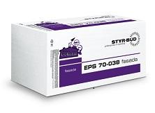 Płyty Styropianowe STYR-BUD EPS 70-038 Fasada Fasada, cena za m3