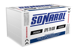 Styropian EPS 70 038 fasada , SONAROL, cena za m3