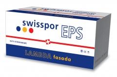 Styropian grafitowy Fasada LAMBDA MAX GRAFIT EPS 031 SWISSPOR, cena za m3