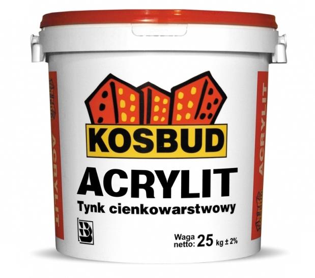 Tynk akrylowy KOSBUD Acrylit-G (baranek), opak. 25kg