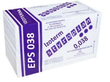 Styropian inwestycyjny Izoterm Kępno FASADA EPS70-038