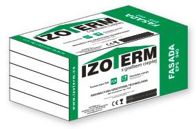 Styropian IZOTERM FASADA EPS 040, cena za m3