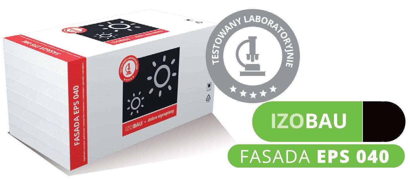 Styropian Izobau Lubau FASADA EPS040 gwarantowany 12,5kg , cena za m3