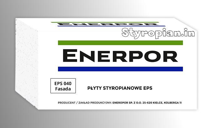 Styropian Fasada Enerpor EPS040 0,040 Hit,  cena za m3