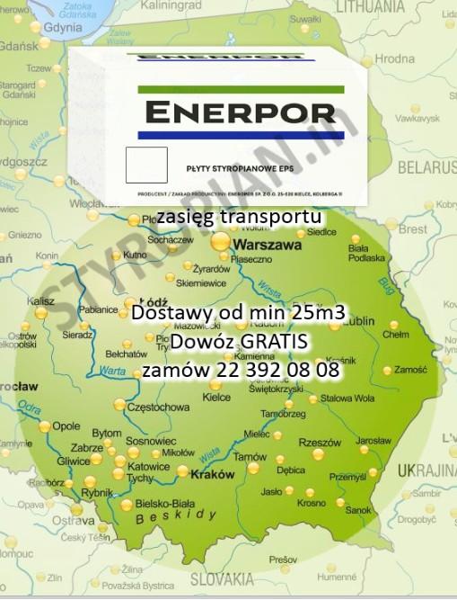 Styropian Dach/Podłoga EPS 038 CS80  Enerpor, cena 1m3