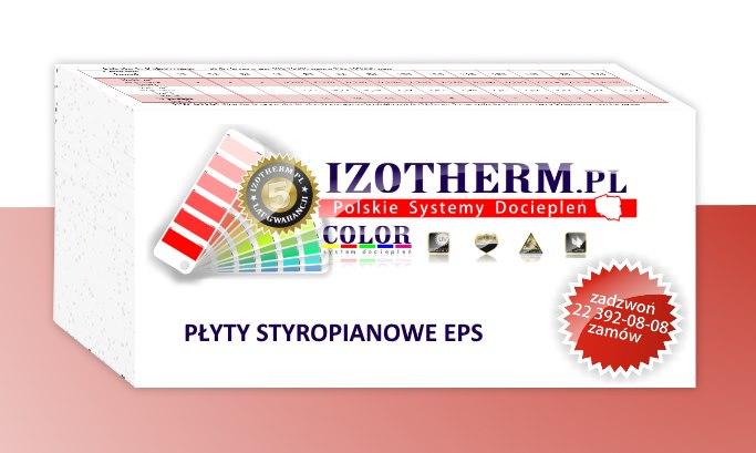 Płyty Styropianowe Izotherm EPS 042 Fasada, cena za m3